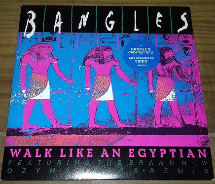 """Bangles - Walk Like An Egyptian (7"""", Single) (CBS)"""