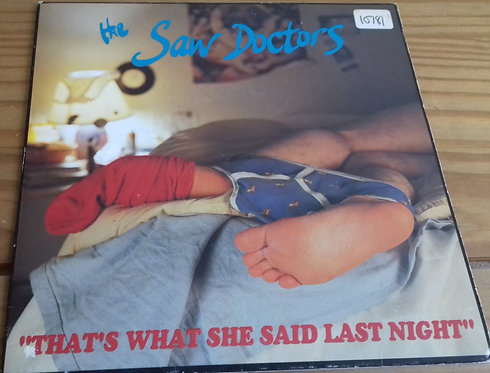 """The Saw Doctors - That's What She Said Last Night (7"""", Single) (Solid Records (4"""