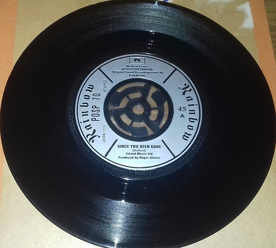 """Rainbow - Since You've Been Gone (7"""", sil) (Polydor)"""