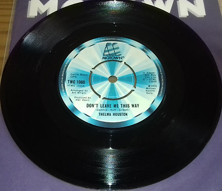 "Thelma Houston - Don't Leave Me This Way (7"", Single) (Motown)"