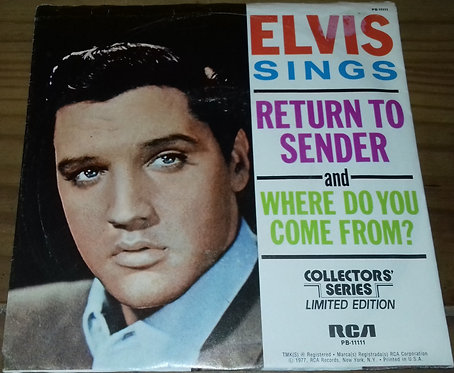 "Elvis Presley - Return To Sender (7"", Single, Mono, Ltd, RE) (RCA)"