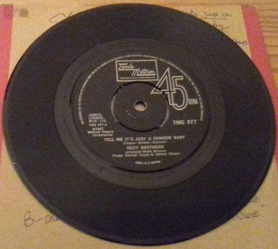"Isley Brothers* - Tell Me It's Just A Rumour Baby (7"", Single) (Tamla Motown)"