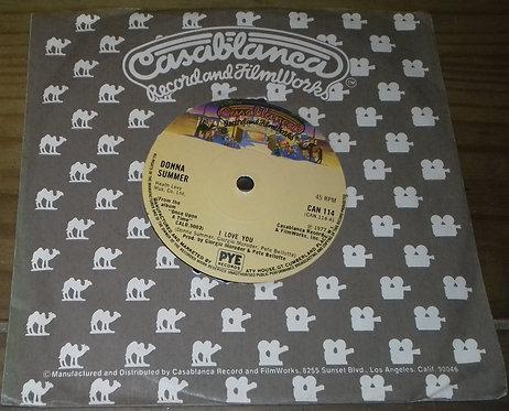"Donna Summer - I Love You (7"", Single, Sol) (Casablanca)"