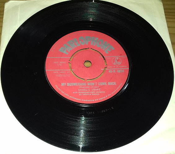 "Charlie Drake - My Boomerang Won't Come Back / She's My Girl (7"", Single) (Parl"