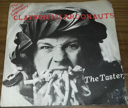 "Clayson And The Argonauts - The Taster (7"", Single) (Virgin)"