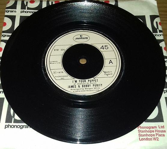 "James & Bobby Purify - I'm Your Puppet (7"", Single) (Mercury)"