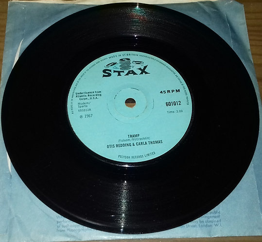 "Otis Redding & Carla Thomas - Tramp (7"", Single, Sol) (Stax)"