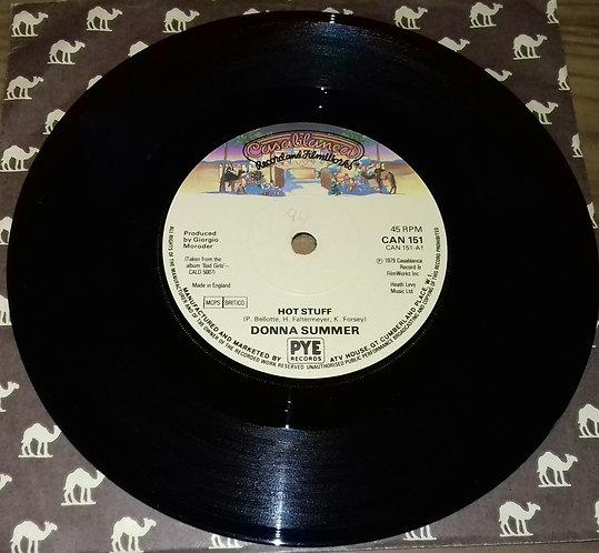 "Donna Summer - Hot Stuff (7"", Single, Sol) (Casablanca)"