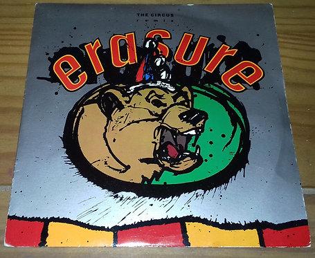"Erasure - The Circus (Remix) (7"", Single, Met) (Mute)"