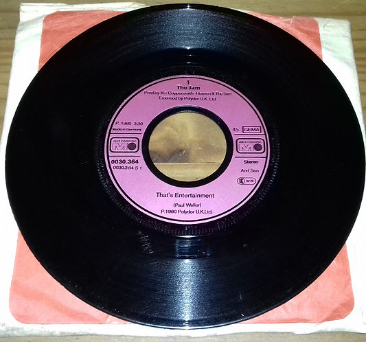 "The Jam - That's Entertainment (7"", Single) (Metronome)"