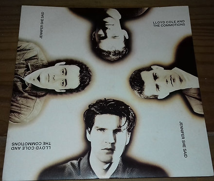 "Lloyd Cole And The Commotions* - Jennifer She Said (7"", Single) (Polydor, Polydo"
