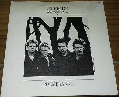 "U2 - Pride (In The Name Of Love) (7"", Single, Bla) (Island Records)"