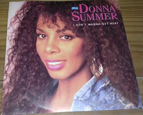 "Donna Summer - I Don't Wanna Get Hurt (7"", Single) (Warner Bros. Records, Warner"