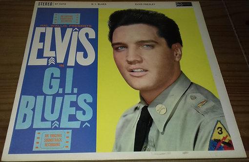 Elvis Presley - G.I. Blues (LP, Album, RE) (RCA, RCA)
