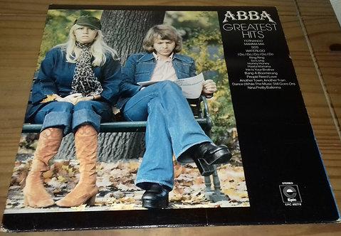 ABBA - Greatest Hits (LP, Comp, RE, Ora) (Epic, Epic, Epic)