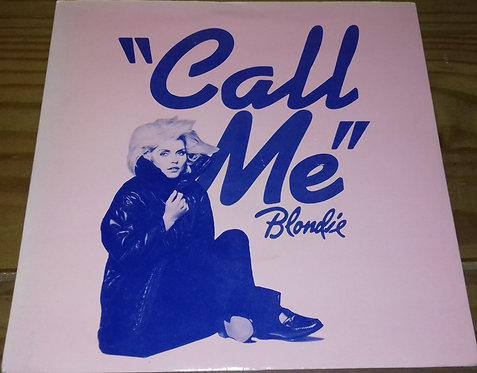 "Blondie - Call Me (7"", Single, Blu) (Chrysalis)"