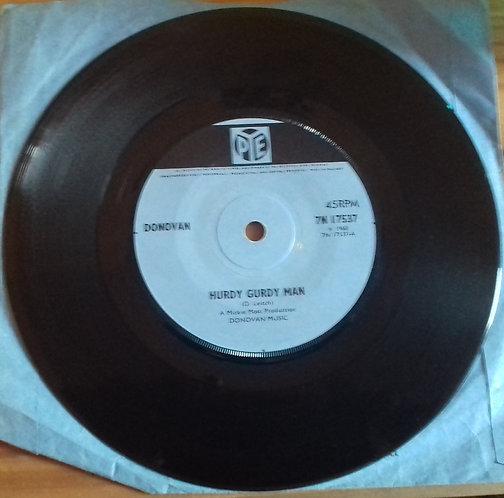 """Donovan - Hurdy Gurdy Man (7"""", Single, Sol) (Pye Records)"""