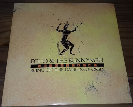 "Echo & The Bunnymen - Bring On The Dancing Horses (7"", Single, Pap) (Korova, Ko"