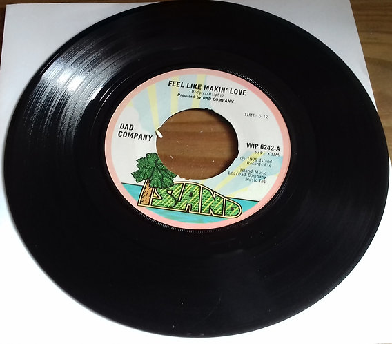 "Bad Company  - Feel Like Makin' Love (7"", Single) (Island Records)"