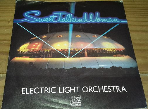 "Electric Light Orchestra - Sweet Talkin' Woman (7"", Single, Pur) (Jet Records, J"