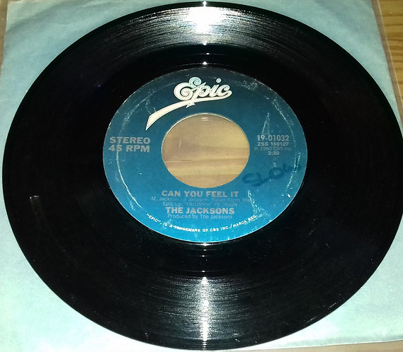 """The Jacksons - Can You Feel It / Everybody (7"""", Single, Styrene) (Epic)"""