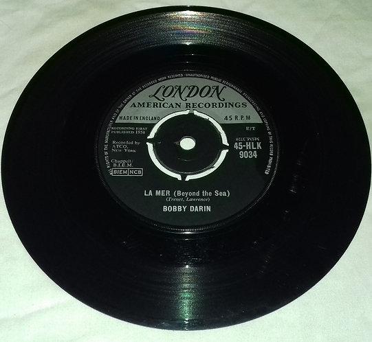 "Bobby Darin - La Mer (Beyond The Sea) (7"", Single) (London Records, London Amer"