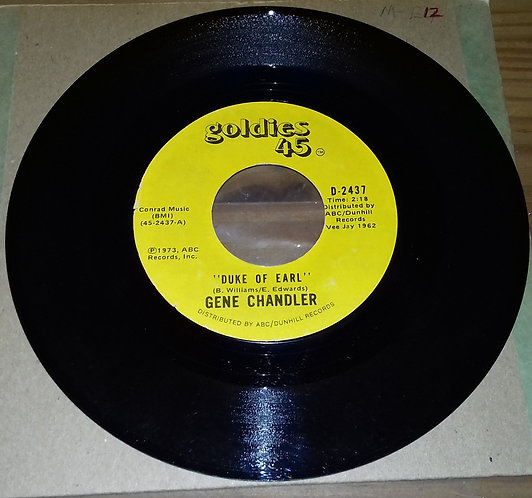 "Gene Chandler - Duke Of Earl / Nite Owl (7"", Single, RE) (Goldies 45)"