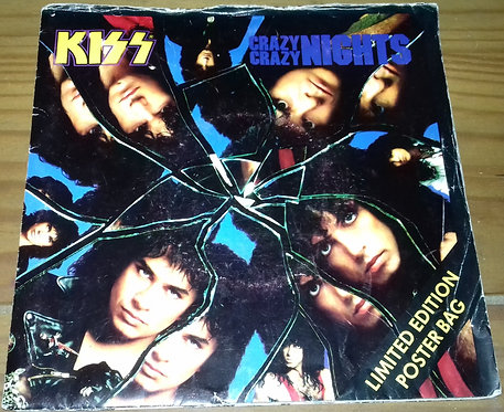 "Kiss - Crazy Crazy Nights (7"", Ltd, Pos) (Vertigo)"