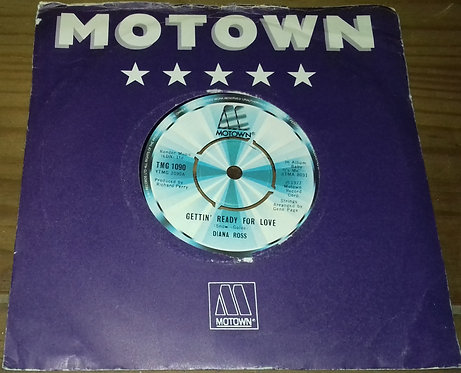 "Diana Ross - Gettin' Ready For Love (7"", Single) (Motown)"