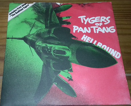"Tygers Of Pan Tang - Hellbound (2x7"", Single) (MCA Records, MCA Records)"