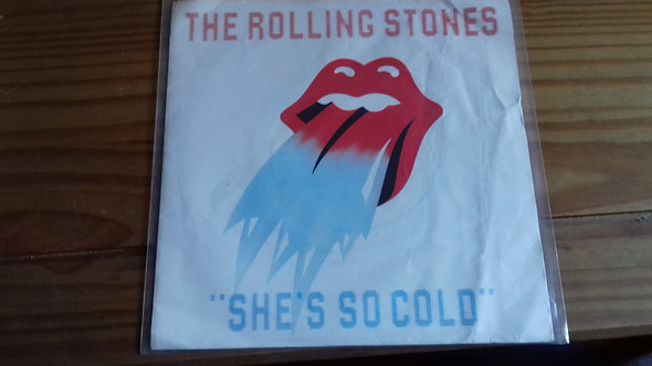 """The Rolling Stones - She's So Cold (7"""", Single) (Rolling Stones Records)"""