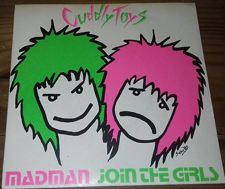 """Cuddly Toys - Madman / Join The Girls (7"""", Single) (Parole Records, Fresh Record"""