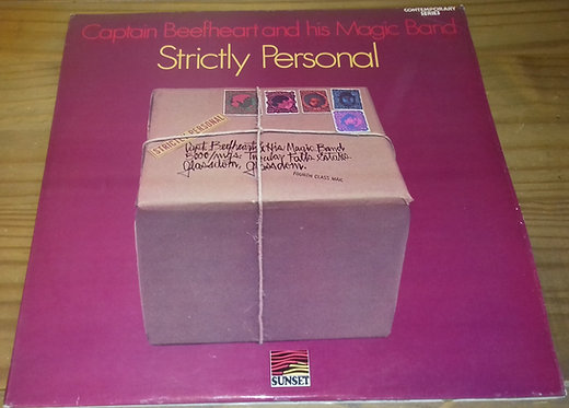Captain Beefheart And His Magic Band* - Strictly Personal (LP, Album, RE) (Sunse