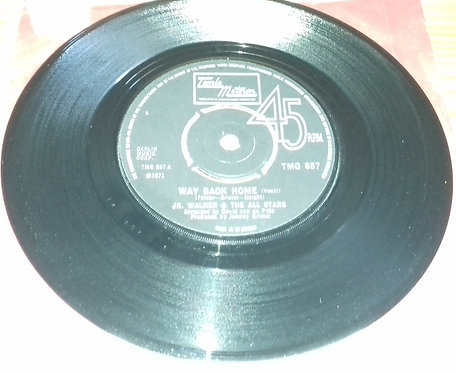 "Junior Walker & The All Stars - Way Back Home (7"", Single) (Tamla Motown)"