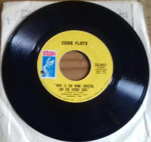 Eddie Floyd - Why Is The Wine Sweeter (On The Other Side) / People, Get It Toget