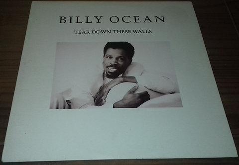 Billy Ocean - Tear Down These Walls (LP, Album) (Jive)