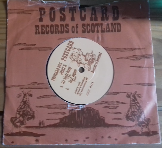"Josef K - It's Kinda Funny / Final Request (7"", Single) (Postcard Records)"