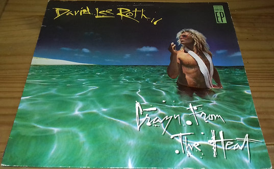 """David Lee Roth - Crazy From The Heat (12"""", EP) (Warner Bros. Records)"""