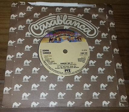 "Donna Summer - Rumour Has It (7"", Single, Sol) (Casablanca)"