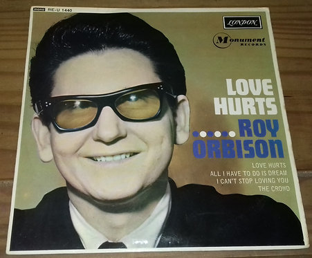 "Roy Orbison - Love Hurts (7"", EP, Mono) (London Records, London American Record"