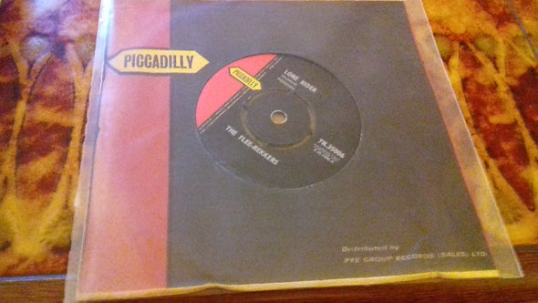 """The Flee-Rekkers - Lone Rider (7"""", Single) (Piccadilly)"""