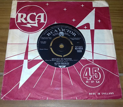 "Elvis Presley With The Jordanaires - Return To Sender (7"", Single) (RCA Victor)"