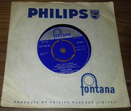 """Cleo Laine - Let's Slip Away (7"""", Mono) (Fontana, Fontana)"""