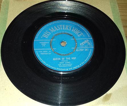 """Don Lang - Queen Of The Hop / La-Do-Da-Da (7"""", Single) (His Master's Voice)"""