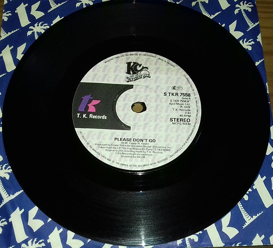 """KC And The Sunshine Band* - Please Don't Go (7"""", Single) (T.K. Records)"""
