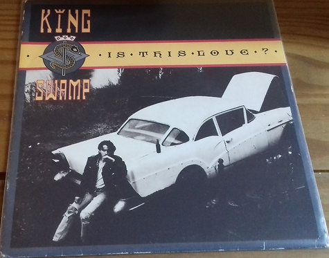 "King Swamp - Is This Love? (7"", Single, Pap) (Virgin Records Ltd.)"