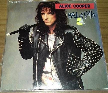 """Alice Cooper  - Bed Of Nails (7"""", Single, Car) (Epic)"""