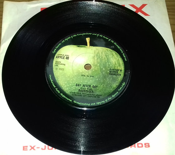 """Badfinger - Day After Day (7"""", Single, Sol) (Apple Records)"""
