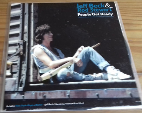 "Jeff Beck & Rod Stewart - People Get Ready (7"") (Epic)"