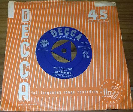 """Mike Preston - In Surabaya (7"""", Single, Tri) (Decca)"""